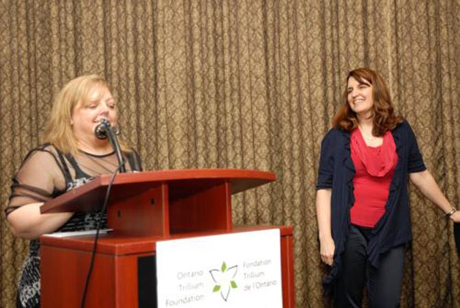 Nancy Waldschmidt & Judy Maidment