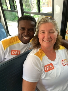 Liz Moruzi and Pinball Clemons
