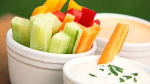 veggies and dip