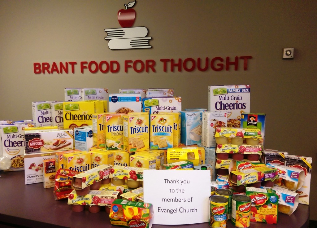 Food Donation Dec 2015