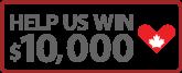 Help us win $10K