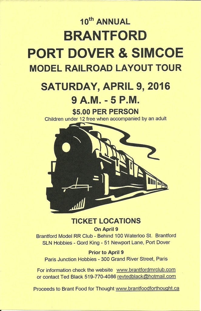 Model Railroad Layour Tour_flyer