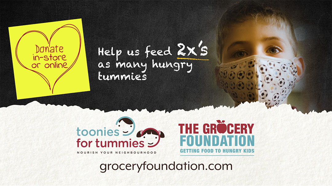 Take The Toonie Challenge – 2021 Toonies For Tummies Campaign